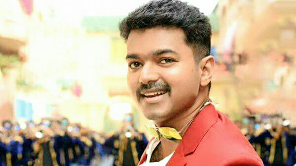 Theri Vijay New Look