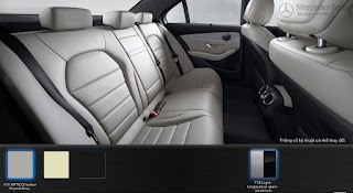 Nội thất Mercedes C200 2017 màu Xám Crystal 118