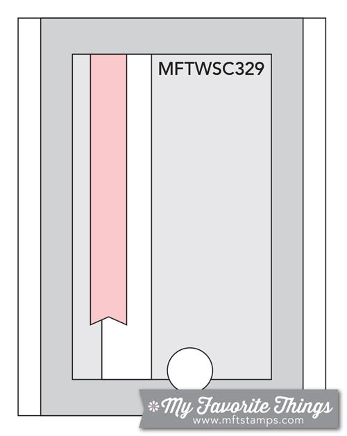Sketch Challenge 329 #mftstamps
