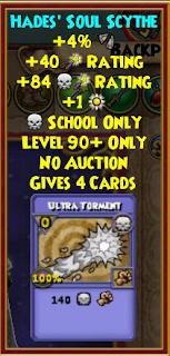 Wizard101 Aquila Hades' Tartarus Wand Drop