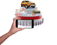 Castiga 3 Dacia Duster + cupoane de cumparaturi pe loc si excursii pitoresti