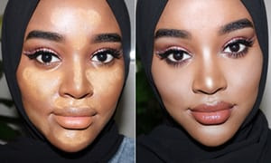 How To Highlight And Contour A Dark Skin Like A Pro