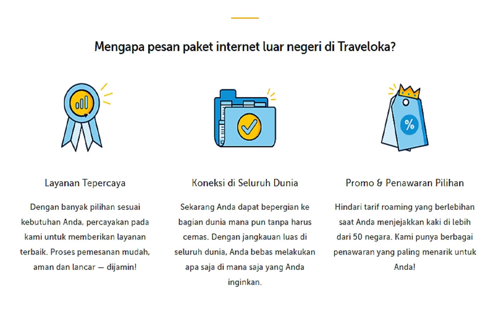 Komunikasi Internasional Lebih Murah Dengan Paket Data Roaming Dari Traveloka