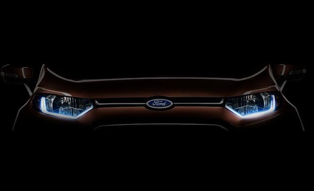 Ford EcoSport facelift teased