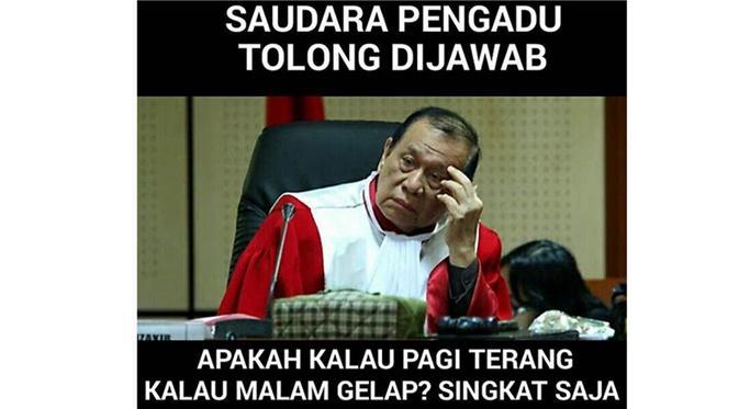 Kumpulan Meme Sidang MKD 'Saudara Pengadu..'