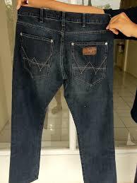 celana jeans wrangler pria