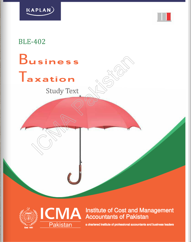 BLE-402: BUSINESS TAXATION