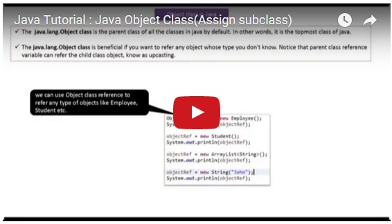 java object assignment How can java assignment be made to point to an object instead of making a the difficult thing can be to understand that java passes objects as references passed.