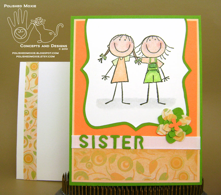 Sister And Friendship Cards Take 2 And Siblings Come To