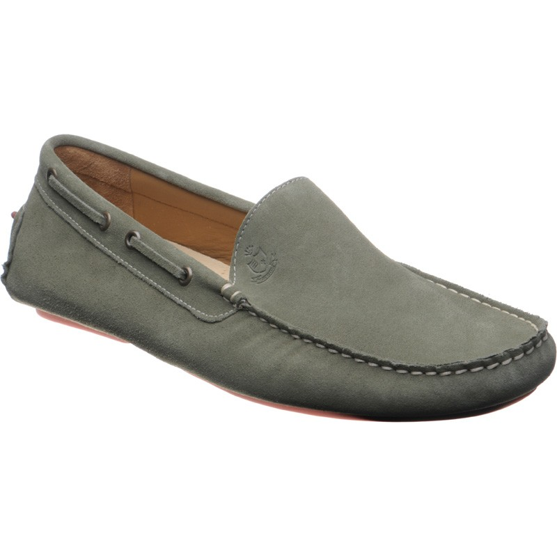 Navy Driving Shoes Womens