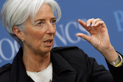 Christine Lagarde Boss IMF