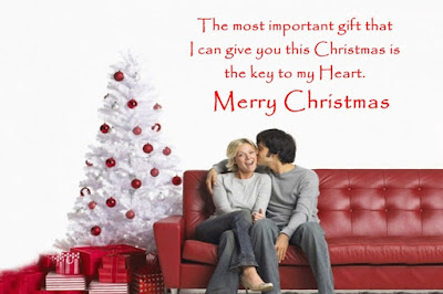 Merry Christmas Love Messages with Image