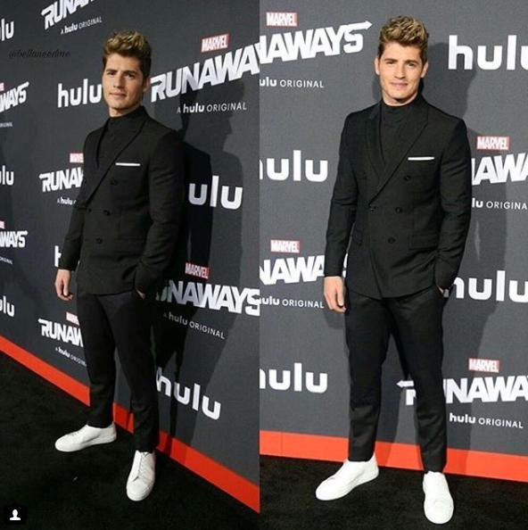 Confira várias fotos do ator Gregg Sulkin, o Chase Stein de Marvel's Runaways  (Fugitivos) Canal Hulu