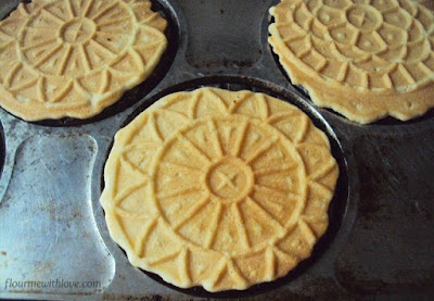 Easy homemade vanilla pizzelles to make at home!