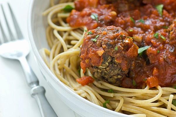 Portobello Mushroom Meatballs