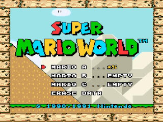 super mario world completo