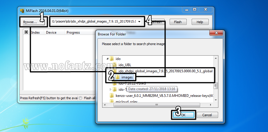Tutorial Flashing Redmi 3 Pro (IDO) via PC Tested 100%