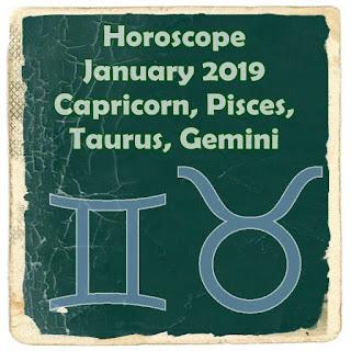 AstroWiki Horoscope January 2019 Capricorn, Pisces, Taurus, Gemini
