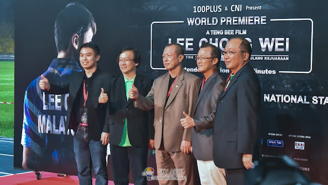 Lee Chong Wei : Rise of the Legend 李宗伟 败者为王 movie premiere at Bukit Jalil National Stadium Red Carpet