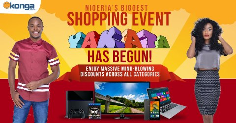 Black Friday sales on Konga