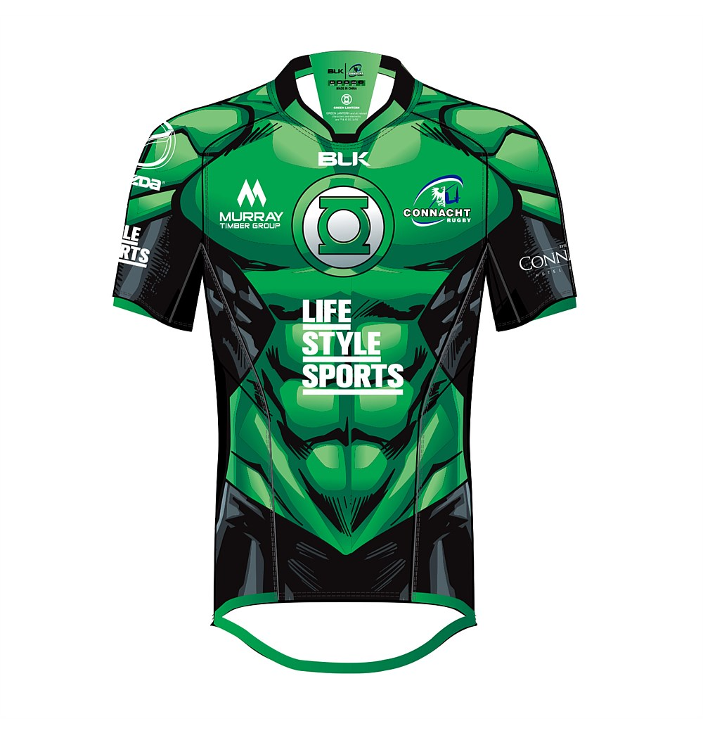 Dc Comics Blk Sport Connacht Rugby 2017