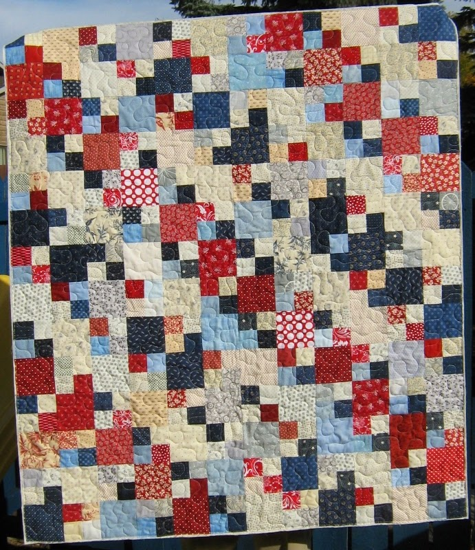 Inch By Inch Quilting: Shediac Quilt