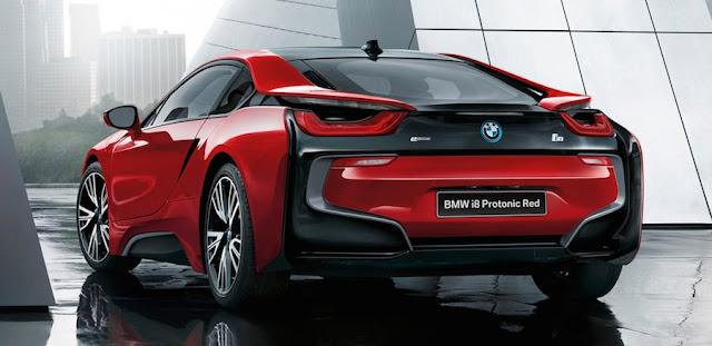 BMW i8 セレブレーション・エディション・プロトニック・レッド 日本