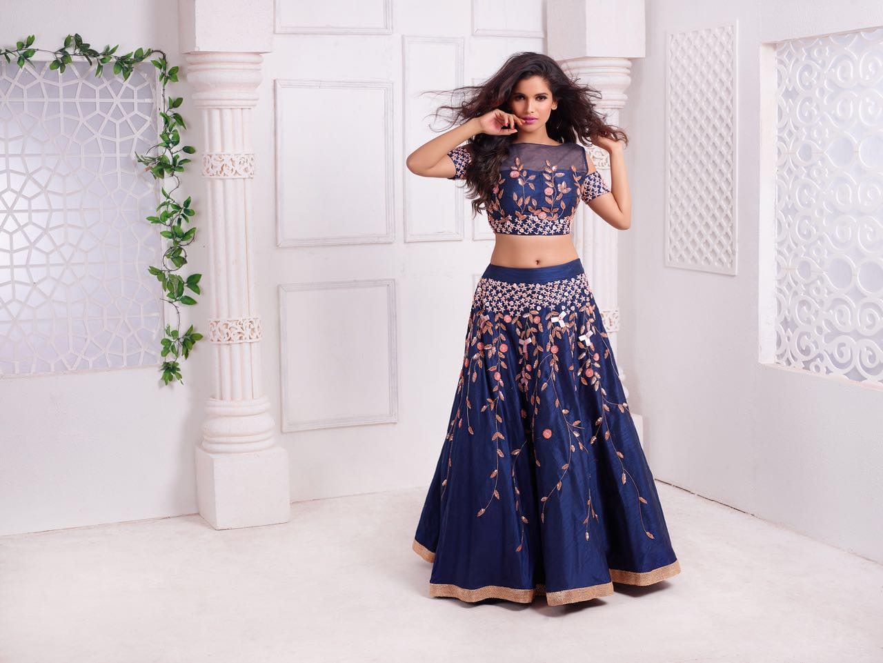 8cc2aac077be Wedding Special! Couture Lehengas At Sionaah - Shopping, Style and Us