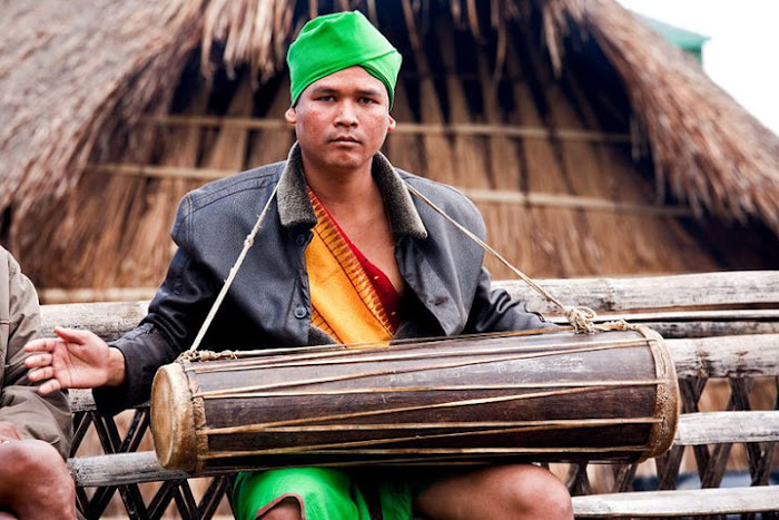 A Dimasa man, Assam - Johan Gerrits photography