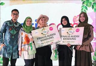 Sabine Fatimah Sayidina dan Dini Andriany Finalis Sunsilk Hijab Hunt 2018 Bandung