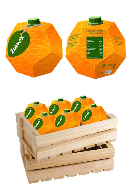 Zumox Orange Juice Student Project Packaging Of World - Creative Package Design