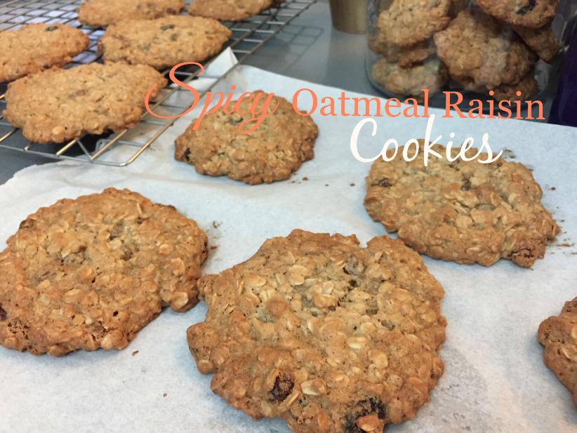 Spicy Oatmeal Raisin Cookies Yang Sedap