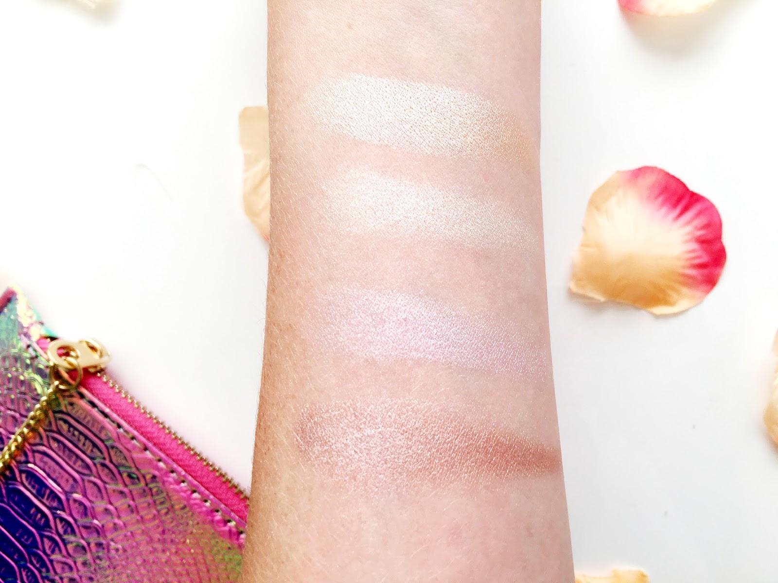 Sleek Solstice Palette Swatches