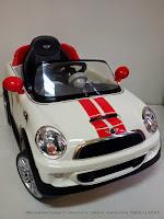 Mobil Mainan Aki Junior W446EQ Mini Cooper S Lisensi White