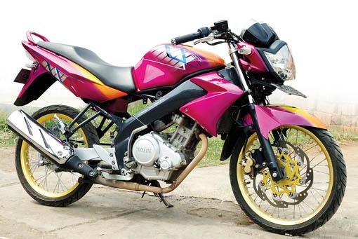 Motor Drag Ninja : Gambar Modifikasi Motor Yamaha Vixion