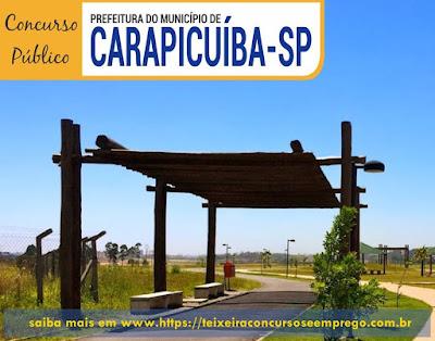 Concurso Prefeitura de Carapicuíba [SP] Técnico de Enfermagem PSF.