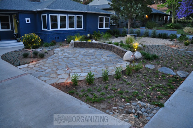 Drought Tolerant landscape planted sparingly :: OrganizingMadeFun.com