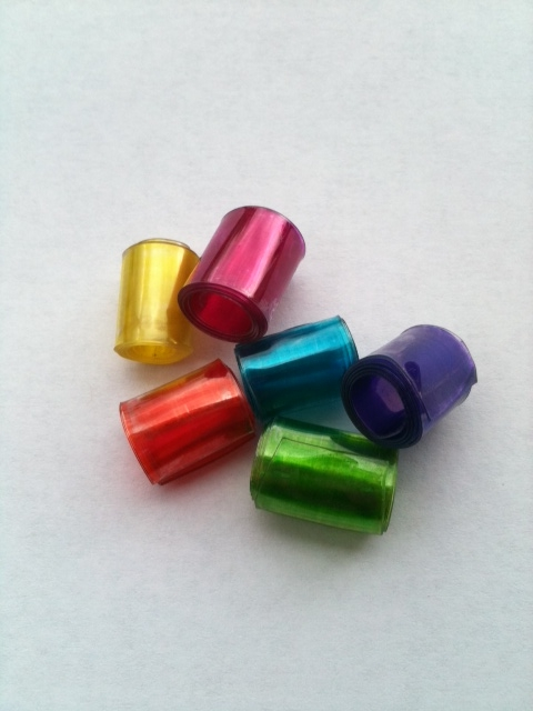 f9dbed60e Crafty Soccer Mom: Recycled Plastic Beads