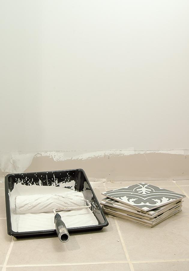 Sherwin-William Rock salt paint