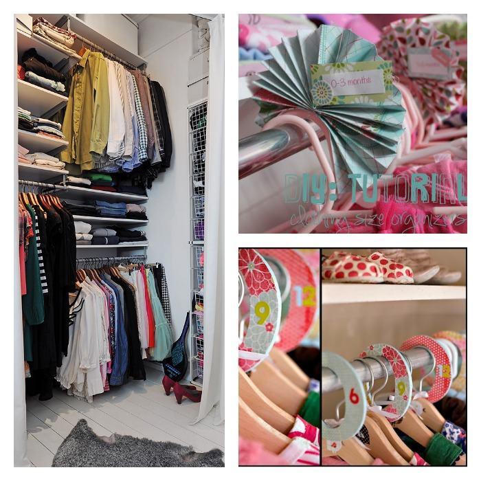 trucos de orden para tu armario y diy fácil para clasificar ropa colgada
