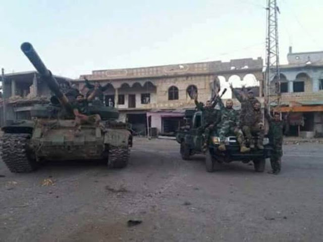 الجيش السوري يستعيد السيطرة على بلدة بصر الحرير ومليحة العطش في ريف درعا الشمالي الشرقي
