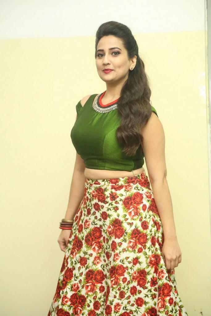Anchor Manjusha At Jai Lava Kusa Movie Jayotsavam Event Stills