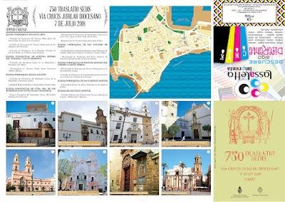 Descarga el Itinerario del Vía Crucis Diocesano de Cádiz. 07/07/2018
