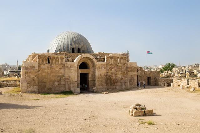 Palacio Omeya de la Ciudadela de Amman