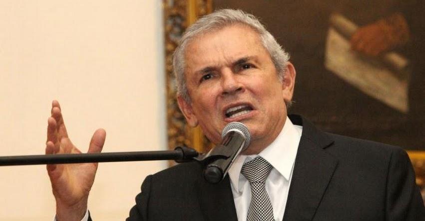 Fiscalía solicita impedimento de salida del país al exalcalde de Lima, Luis Castañeda Lossio