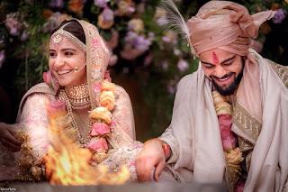 Pictures  of Virat Kohli and Anushka Sharma Engagement, Marriage.