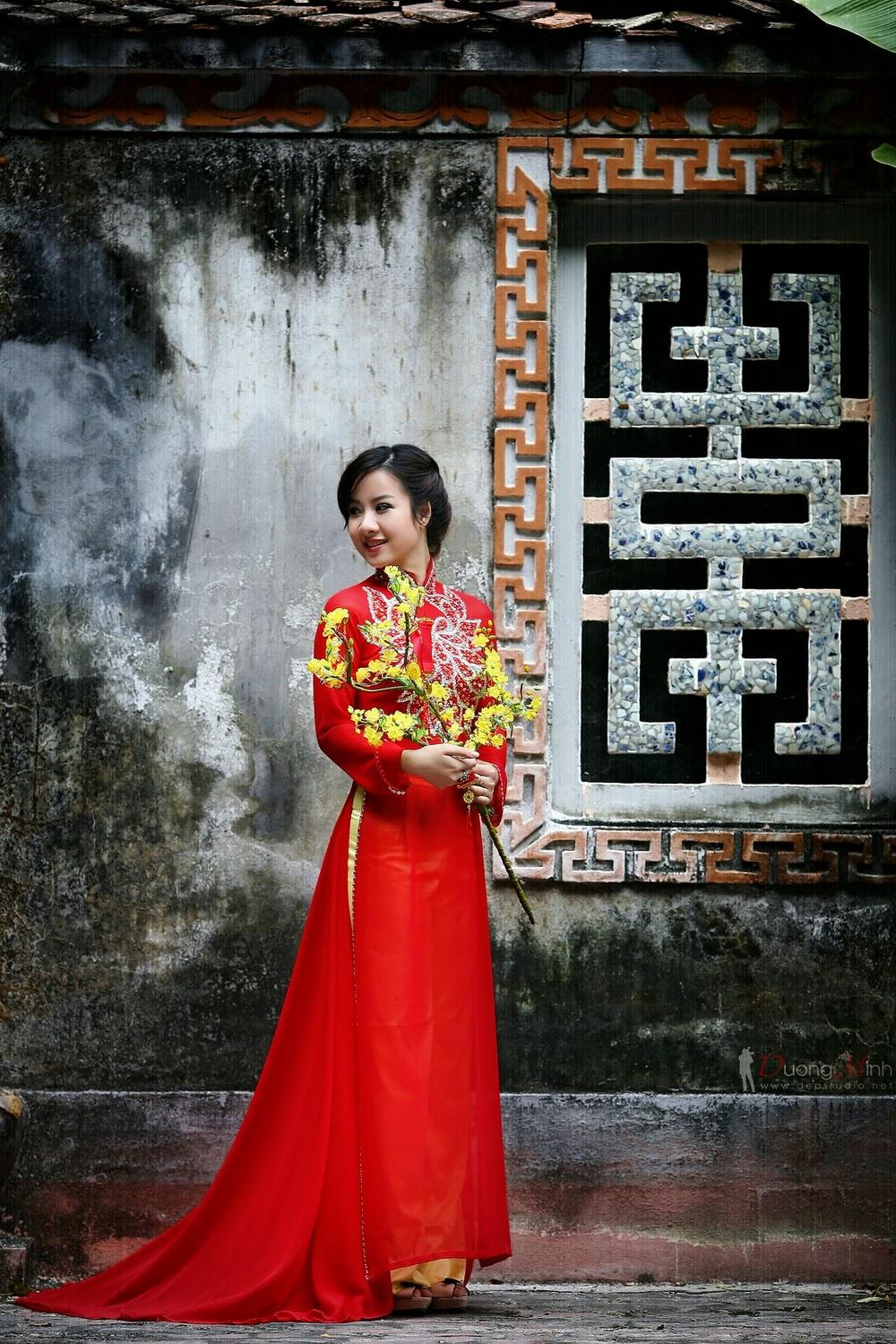 Ảnh đẹp girl xinh Áo dài truyền thống Việt Nam - Ảnh 10