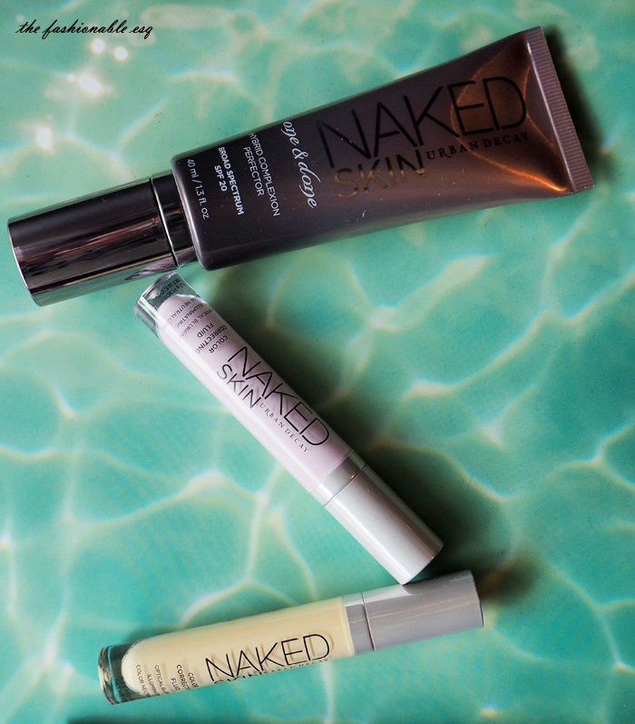 Urban Decay's Naked Skin Color Correctors in Lavender and Yellow