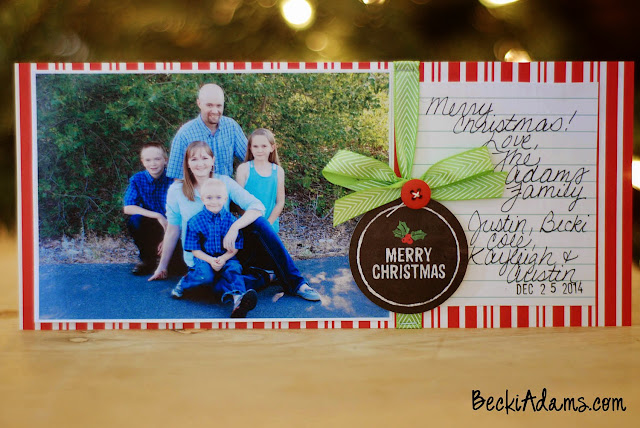 Easy Handmade Christmas Cards by Becki Adams @jbckadams #ChristmasCard #handmadechristmascard #cardmaking