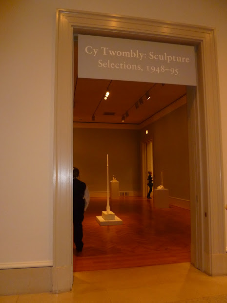 Cy Twombly Sculpture Chicago Museum Of Art Linnea West
